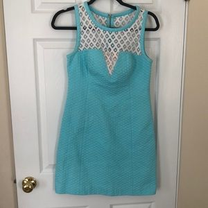 blue Lilly Pulitzer dress